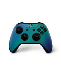 Aqua Blue Chameleon Xbox One X Controller Skin