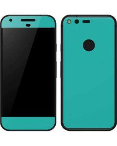 Aqua Blue Google Pixel Skin