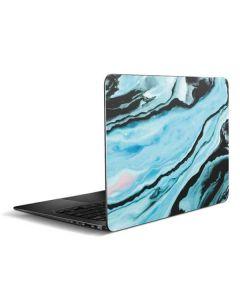 Aqua Blue Marble Ink Zenbook UX305FA 13.3in Skin