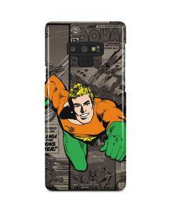 Aquaman Mixed Media Galaxy Note 9 Lite Case