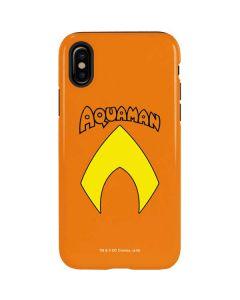 Aquaman Official Logo iPhone X Pro Case