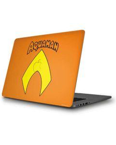 Aquaman Official Logo Apple MacBook Pro Skin