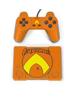 Aquaman Official Logo PlayStation Classic Bundle Skin