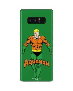 Aquaman Portrait Galaxy Note 8 Skin