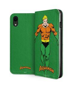 Aquaman Portrait iPhone XR Folio Case