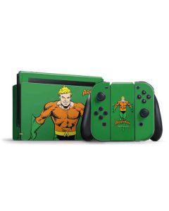 Aquaman Portrait Nintendo Switch Bundle Skin