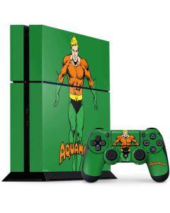 Aquaman Portrait PS4 Console and Controller Bundle Skin