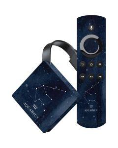 Aquarius Constellation Amazon Fire TV Skin