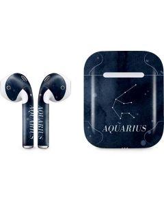Aquarius Constellation Apple AirPods Skin