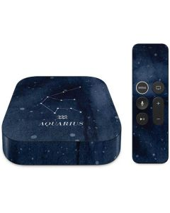 Aquarius Constellation Apple TV Skin