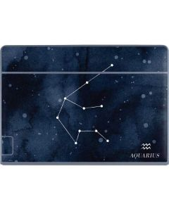 Aquarius Constellation Galaxy Book Keyboard Folio 12in Skin