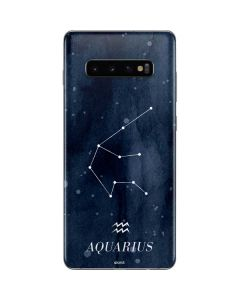 Aquarius Constellation Galaxy S10 Plus Skin