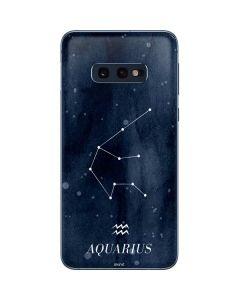 Aquarius Constellation Galaxy S10e Skin