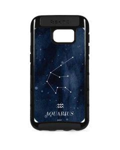 Aquarius Constellation Galaxy S7 Edge Cargo Case