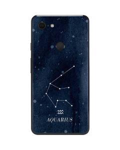 Aquarius Constellation Google Pixel 3 XL Skin