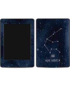 Aquarius Constellation Amazon Kindle Skin