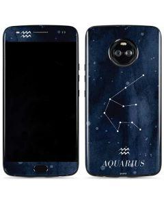 Aquarius Constellation Moto X4 Skin