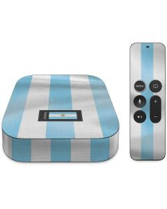 Argentina Soccer Flag Apple TV Skin