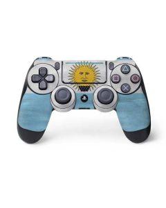 Argentina Flag Distressed PS4 Pro/Slim Controller Skin