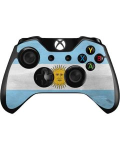 Argentina Flag Distressed Xbox One Controller Skin