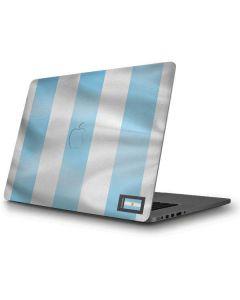 Argentina Soccer Flag Apple MacBook Pro Skin