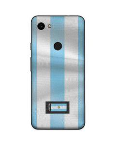 Argentina Soccer Flag Google Pixel 3a Skin