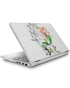 Ariel and Flounder ENVY x360 15t-w200 Touch Convertible Laptop Skin