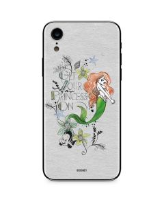 Ariel and Flounder iPhone XR Skin