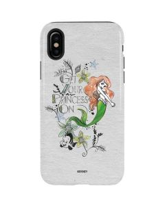 Ariel and Flounder iPhone XS Pro Case