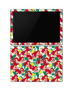 Ariel and Flounder Pattern Surface Pro 6 Skin