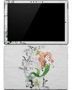Ariel and Flounder Surface Pro 4 Skin