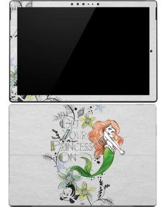 Ariel and Flounder Surface Pro (2017) Skin