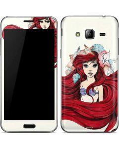 Ariel Illustration Galaxy J3 Skin