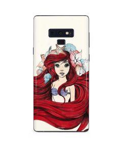 Ariel Illustration Galaxy Note 9 Skin