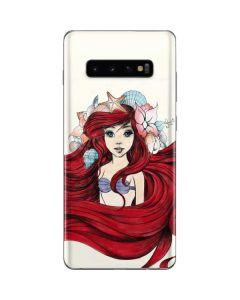 Ariel Illustration Galaxy S10 Plus Skin