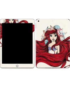 Ariel Illustration Apple iPad Skin