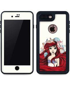 Ariel Illustration iPhone 7 Plus Waterproof Case