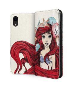 Ariel Illustration iPhone XR Folio Case