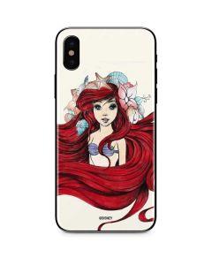 Ariel Illustration iPhone XS Skin