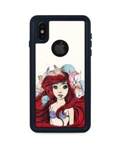 Ariel Illustration iPhone XS Waterproof Case