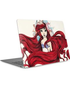 Ariel Illustration Apple MacBook Air Skin