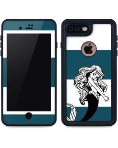 Ariel Stripes iPhone 8 Plus Waterproof Case