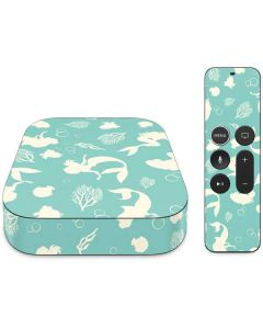 Ariel Under the Sea Print Apple TV Skin