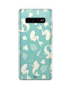 Ariel Under the Sea Print Galaxy S10 Plus Skin