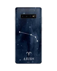 Aries Constellation Galaxy S10 Plus Skin