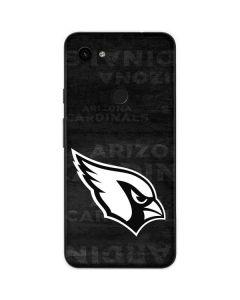 Arizona Cardinals Black & White Google Pixel 3a Skin