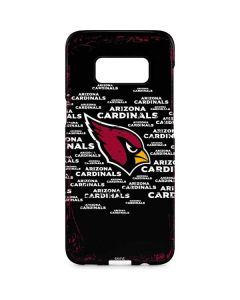 Arizona Cardinals Black Blast Galaxy S8 Plus Lite Case