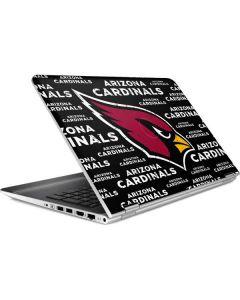 Arizona Cardinals Black Blast HP Pavilion Skin