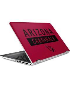 Arizona Cardinals Red Performance Series HP Pavilion Skin