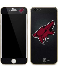 Arizona Coyotes Black Background iPhone 6/6s Skin